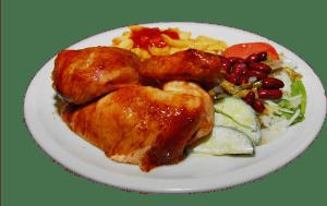 Wiesdorfer Hühnchen Gericht