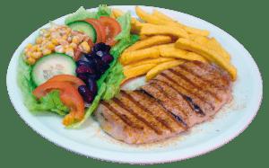 Wiesdorfer Schnitzel Gericht